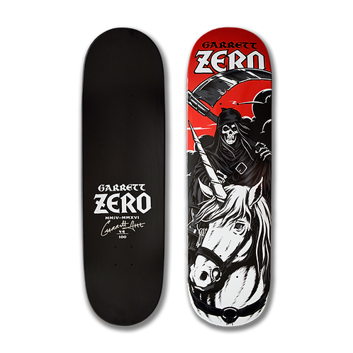 Zero Skateboards: Garrett Hill - Death Rides A Unicorn