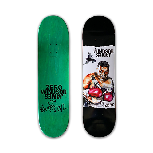 Zero Skateboards: Windsor James - Iron Mike