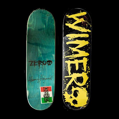 Zero Skateboards: Chris Wimer - Blood (Handsprayed)