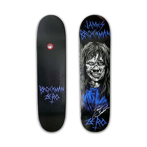Zero Skateboards: James Brockman - Exorcist