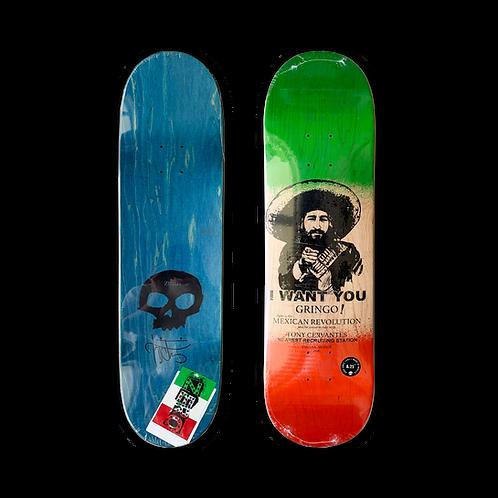 Zero Skateboards: Tony Cervantes - Mexican Revolution