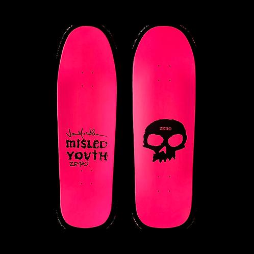 Zero Skateboards: Team - Misled Youth (Shaped)