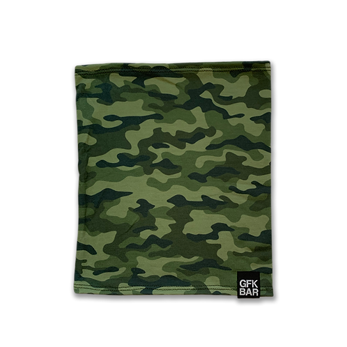 Tubular Bandana - Multi-Use Face Cover - Green Camo