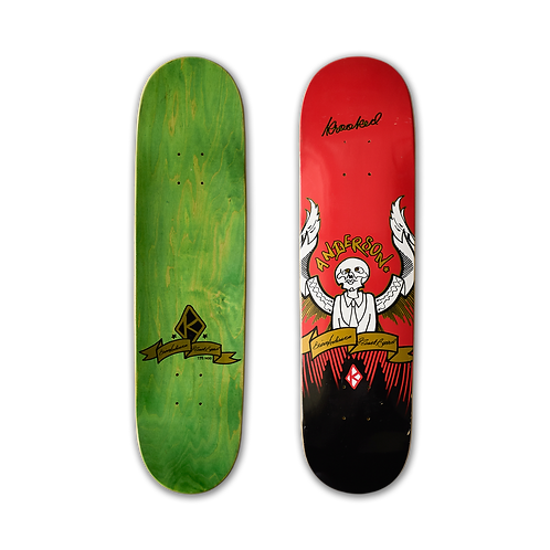 Krooked: Brian Anderson - Guest Board