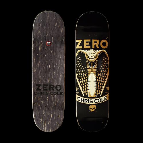 Zero Skateboards: Chris Cole - Cobra (Gold)