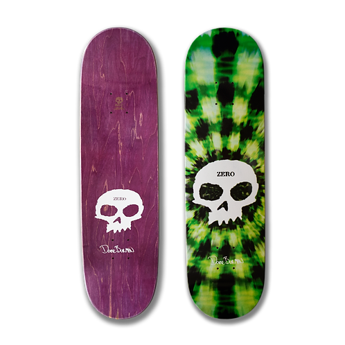 Zero Skateboards: Dane Burman - Signature Skull (Tie Dye)
