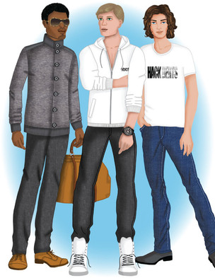 fashion Illustration - Men
