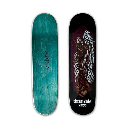 Zero Skateboards: Chris Cole - Stained Glass (Sample)