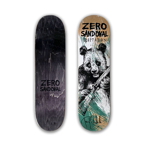 Zero Skateboards: Tommy Sandoval - Adaptation Reissue