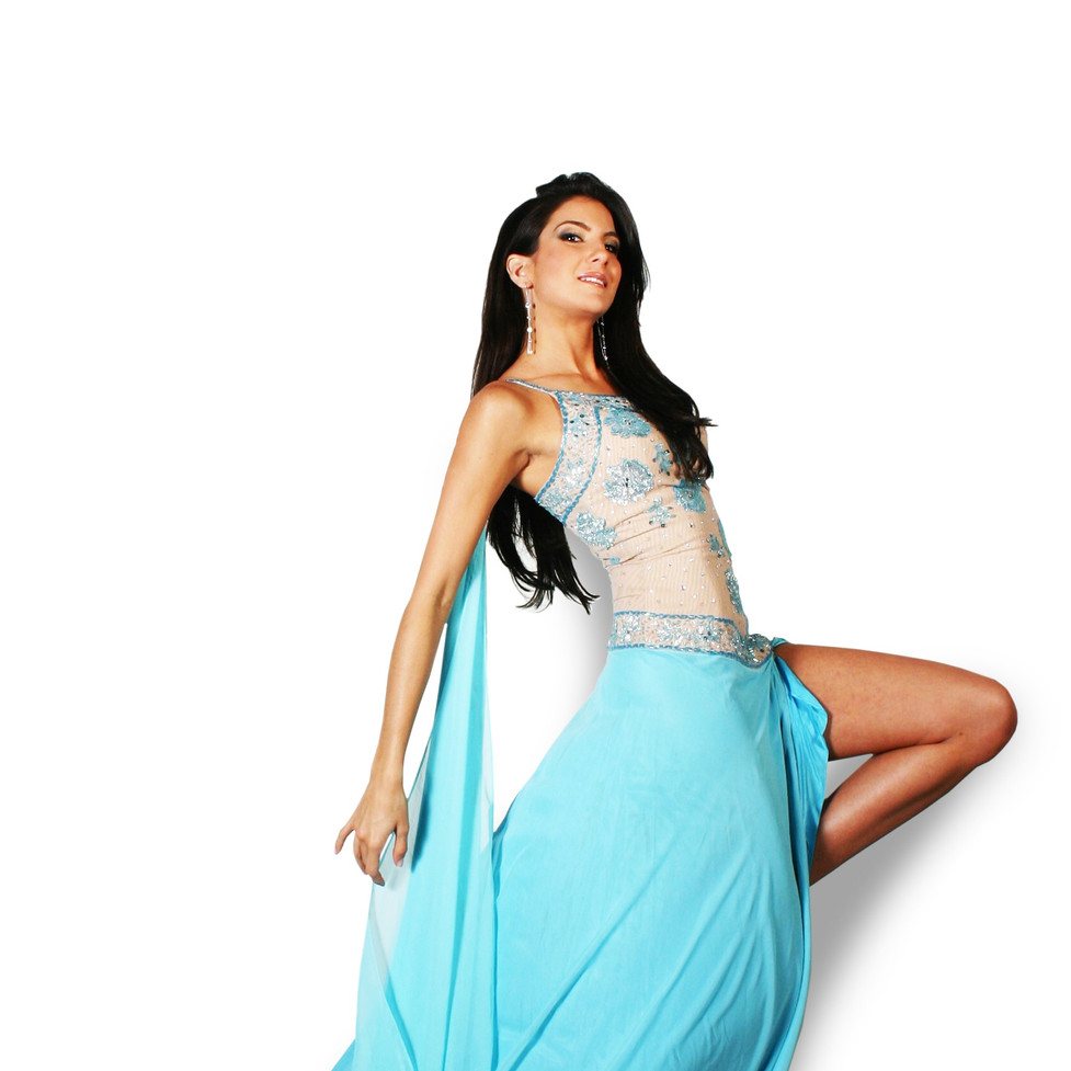 Dress for Miss Universe Nicaragua 2004