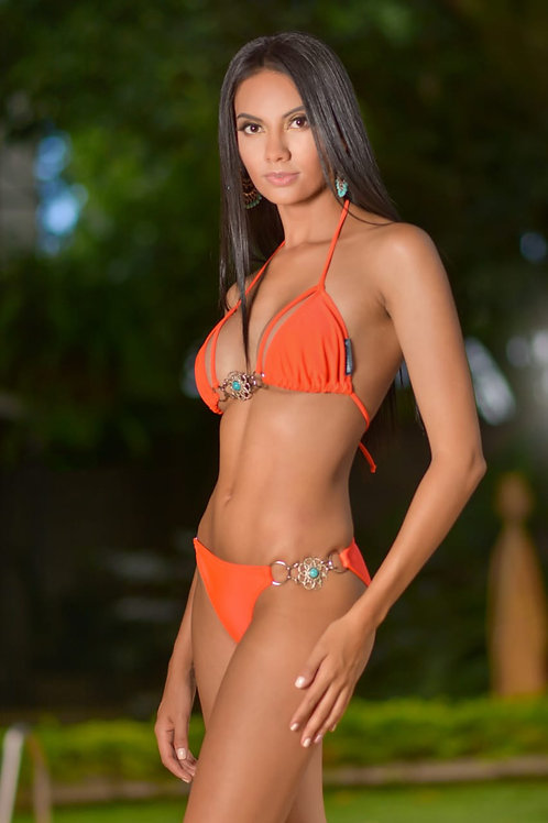 Inspire by Marcia Escobar - Orange Bikini