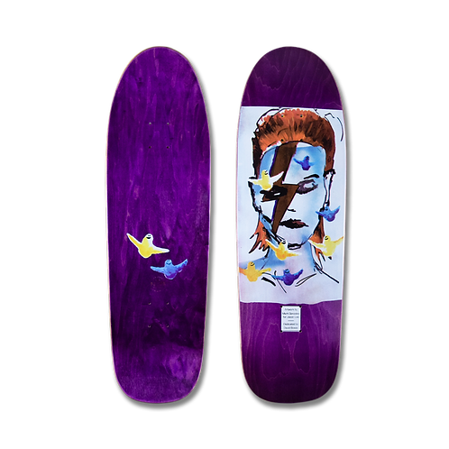 Primewood LA x Mark Gonzalez: Jason Lee - Aladdin Sane (Purple)
