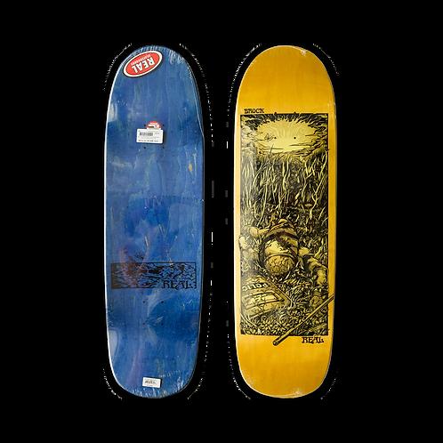Real Skateboards: Justin Brock - Bright Future (Shaped)