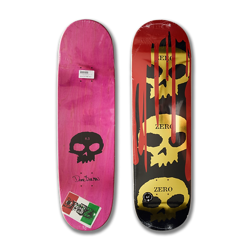 Zero Skateboards: Dane Burman - Bloody Nose