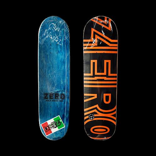 Zero Skateboards: Team - Bold (Signed)