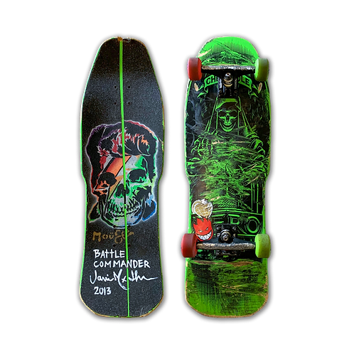 Zero Skateboards: Chris Cole - Angel of Death (Shaped)