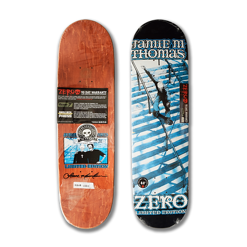 Zero Skateboards: Jamie Thomas - Smith Grind Reissue
