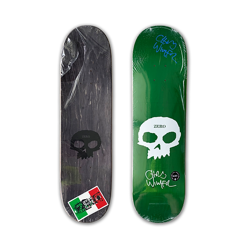 Zero Skateboards: Chris Wimer - Signature Skull