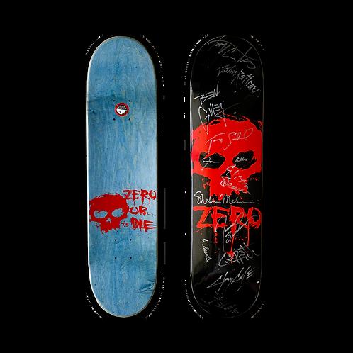 Zero Skateboards: Team - Blood Skull