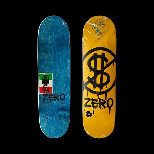 Zero Skateboards: Team - Hard Luck (Signed)