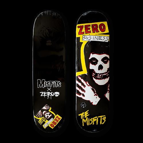 Zero Skateboards: Misfits x Zero: Zero Business