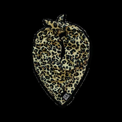 Square Jersey Bandana - Multi-Use Face Cover - Cheetah Print