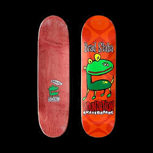 Foundation Skateboards: Brad Staba - Barkee