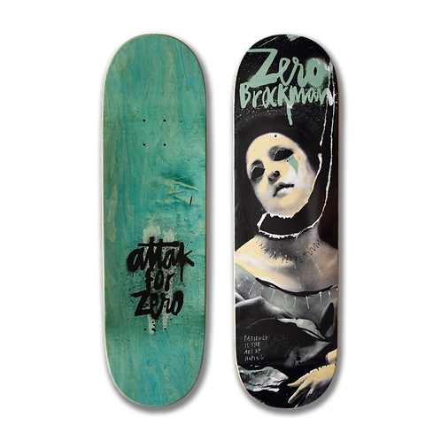 Zero Skateboards: James Brockman - Vandalism