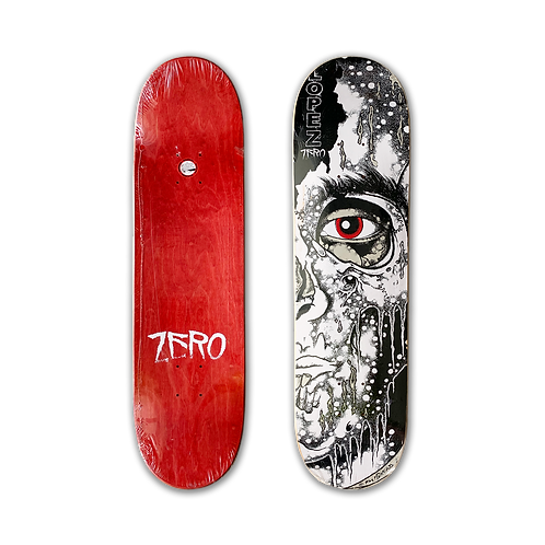 Zero Skateboards: Adrian Lopez - Melting Face