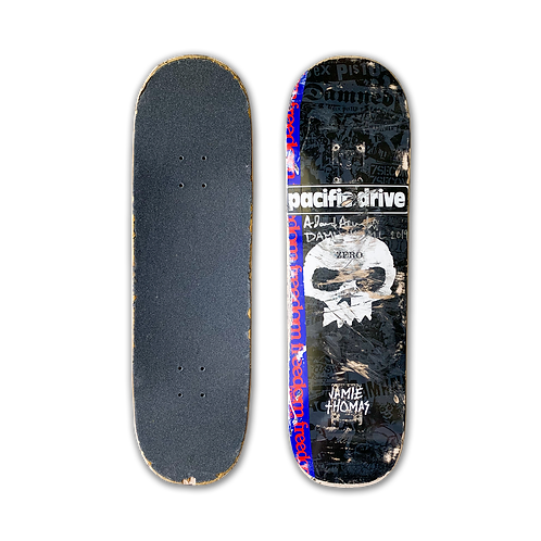 Zero Skateboards: Jamie Thomas - Signature Skull (Punk)