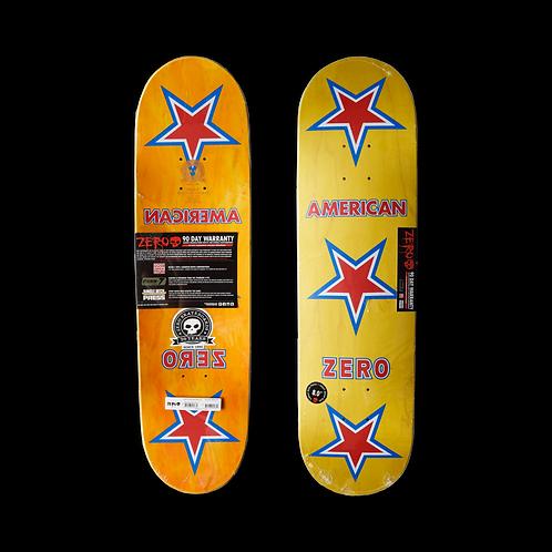 Zero Skateboards: Team - American Zero (20 Year)