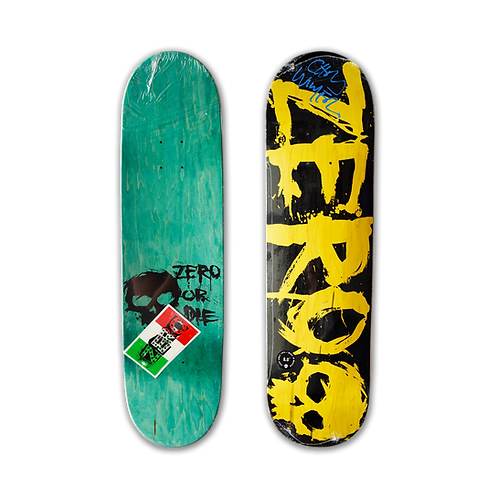 Zero Skateboards: Team - Blood (Signed)