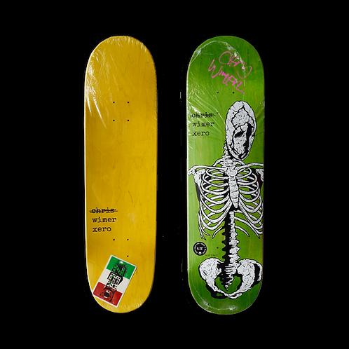 Zero Skateboards: Chris Wimer - Skeletal (Signed)