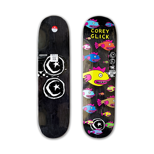 Foundation Skateboards: Corey Glick - Fish