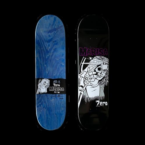 Zero Skateboards: Marisa Dal Santo - Die, Die My Darling