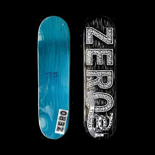 Zero Skateboards: Jamie Thomas - Woodcut