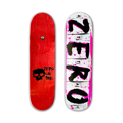 Zero Skateboards: Team - Attak