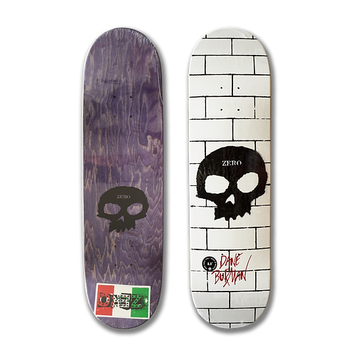 Zero Skateboards: Dane Burman - Signature Skull (The Wall)