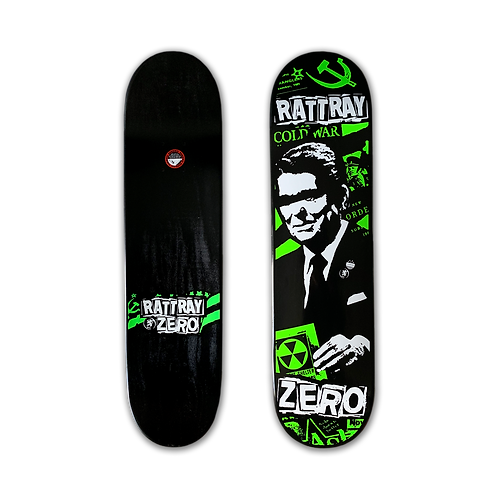 Zero Skateboards: John Rattray - Cold War
