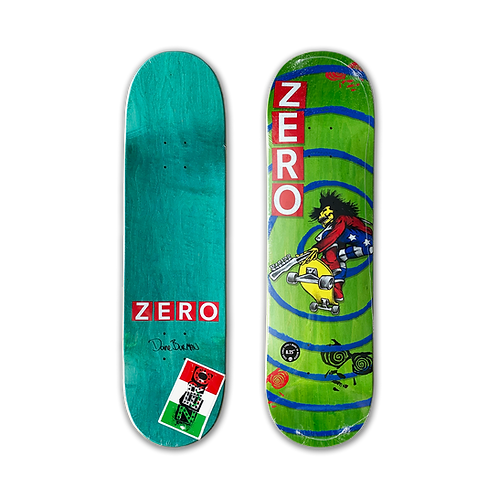 Zero Skateboards: Dane Burman - INXS