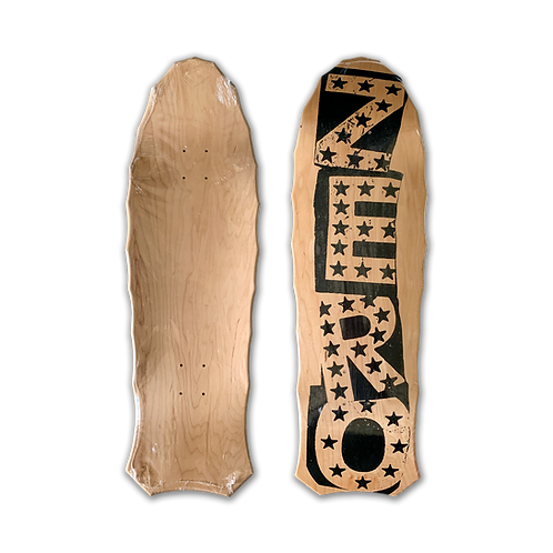 Zero Skateboards: Team - Punk (Natural) (Shaped)