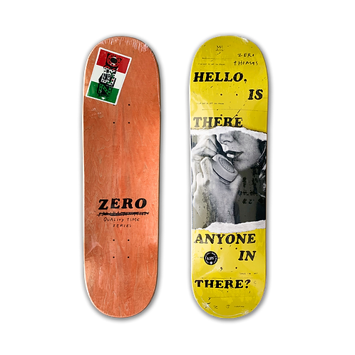 Zero Skateboards: Jamie Thomas - Quality Time