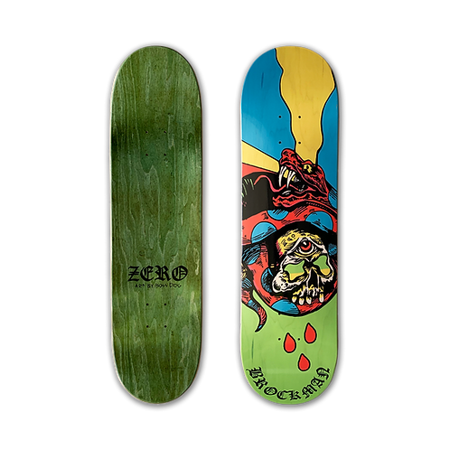 Zero Skateboards: James Brockman - Boss Dog 2