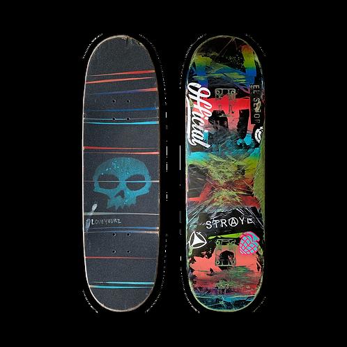 Zero Skateboards: Team - Blood (Handsprayed)