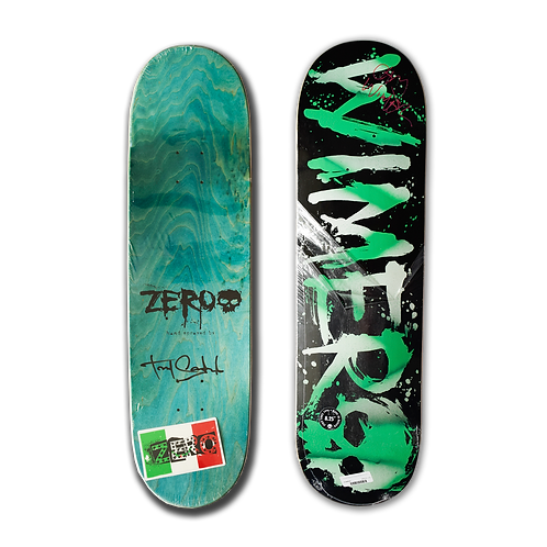 Zero Skateboards: Chris Wimer - Blood (Handsprayed)