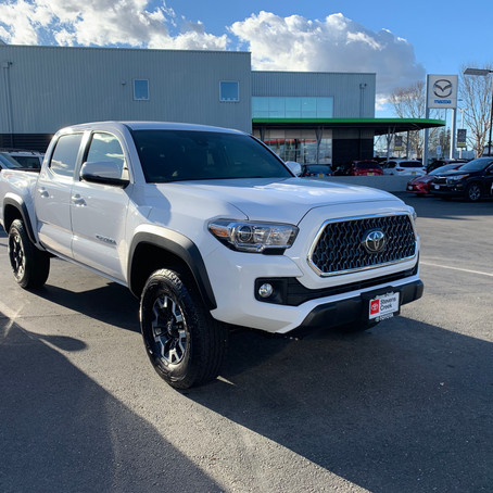 The Tacoma, Our Blank Canvas