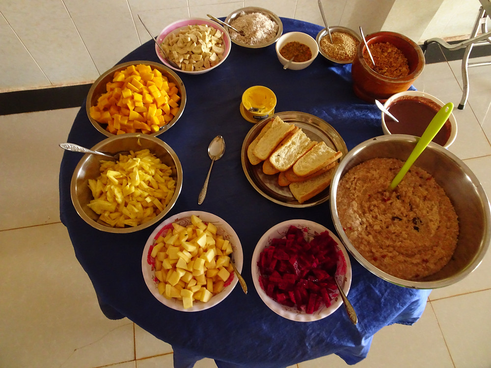 vegan breakfast, vegan food, vegan center conscious living, lifestyle blog, change, mindful life, retreat