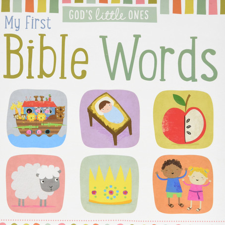 Book Recommendation - My first Bible words
