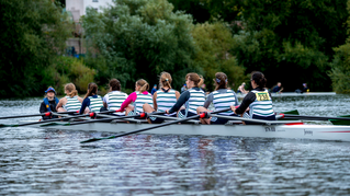 Staines Women's 8+ on British Rowing Website