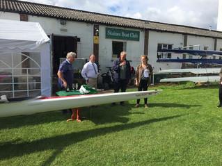 Dudley Fletcher MBE Boat Naming